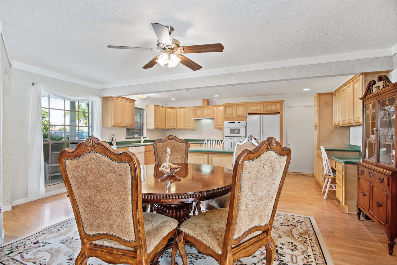 606 Dunbarton Circle Palm Bay, FL 32905. Kitchen and living room. For Sale by Brent Burns.