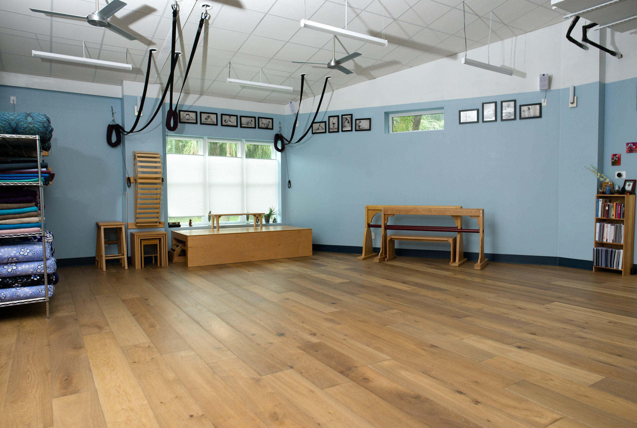 We are the most well equipped yoga studio in all of Northeast Florida