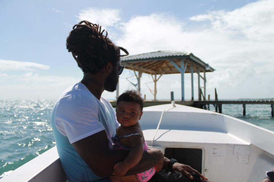 Xaria + her father // Photo:  Mecoh Bain Documentary Photography