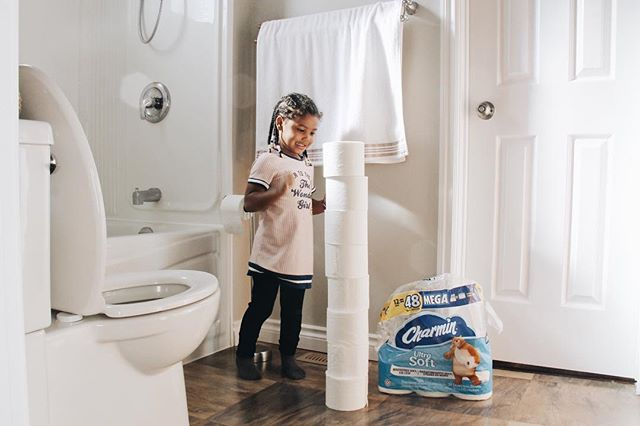 [#Ad] Whether you're in a rush, have time to relax or just want to have fun... enjoy the go! Our bathroom is stocked with @charmin, softness you can't resist. Enjoy the little things and pamper yourself with Charmin Ultra Soft Mega Rolls (utility 1-ply, goodbye). Plus, It's 2x more absorbent, so you can use less, leaving you (us mamas) changing the roll less frequently, because, let's be honest, does anyone else in the house change it? - Shop Charmin Ultra Soft from your favourite retailer, link in bio. // #enjoythego #charminultrasoft @charmin #mb_partner