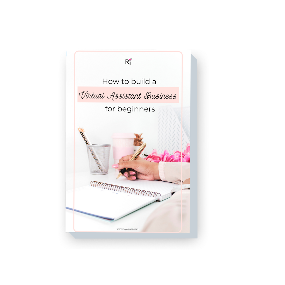 - Download the eBook:How to start and launch a Virtual Assistant Business for Beginners