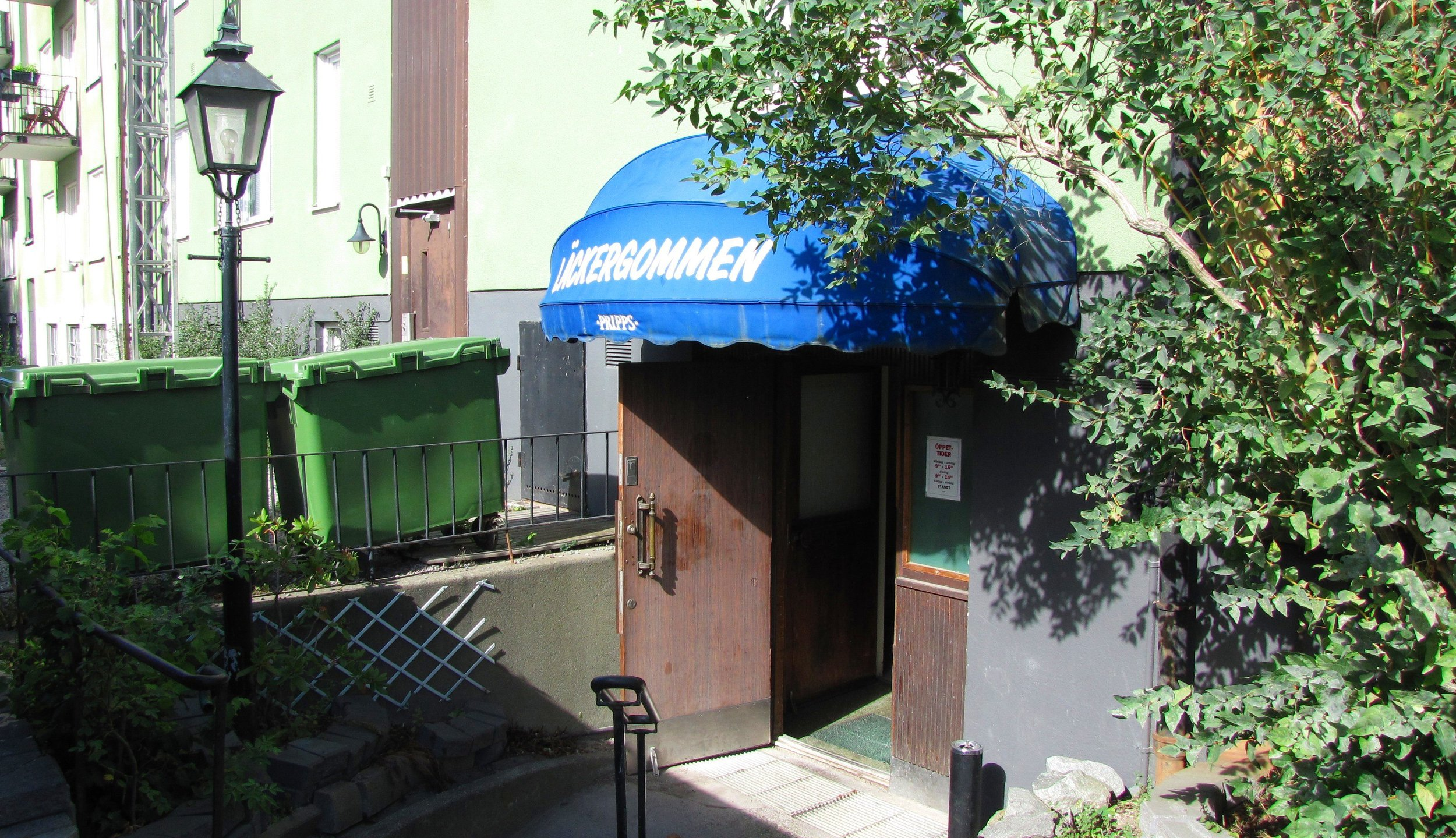 Läckergommen, Stråkvägen 6