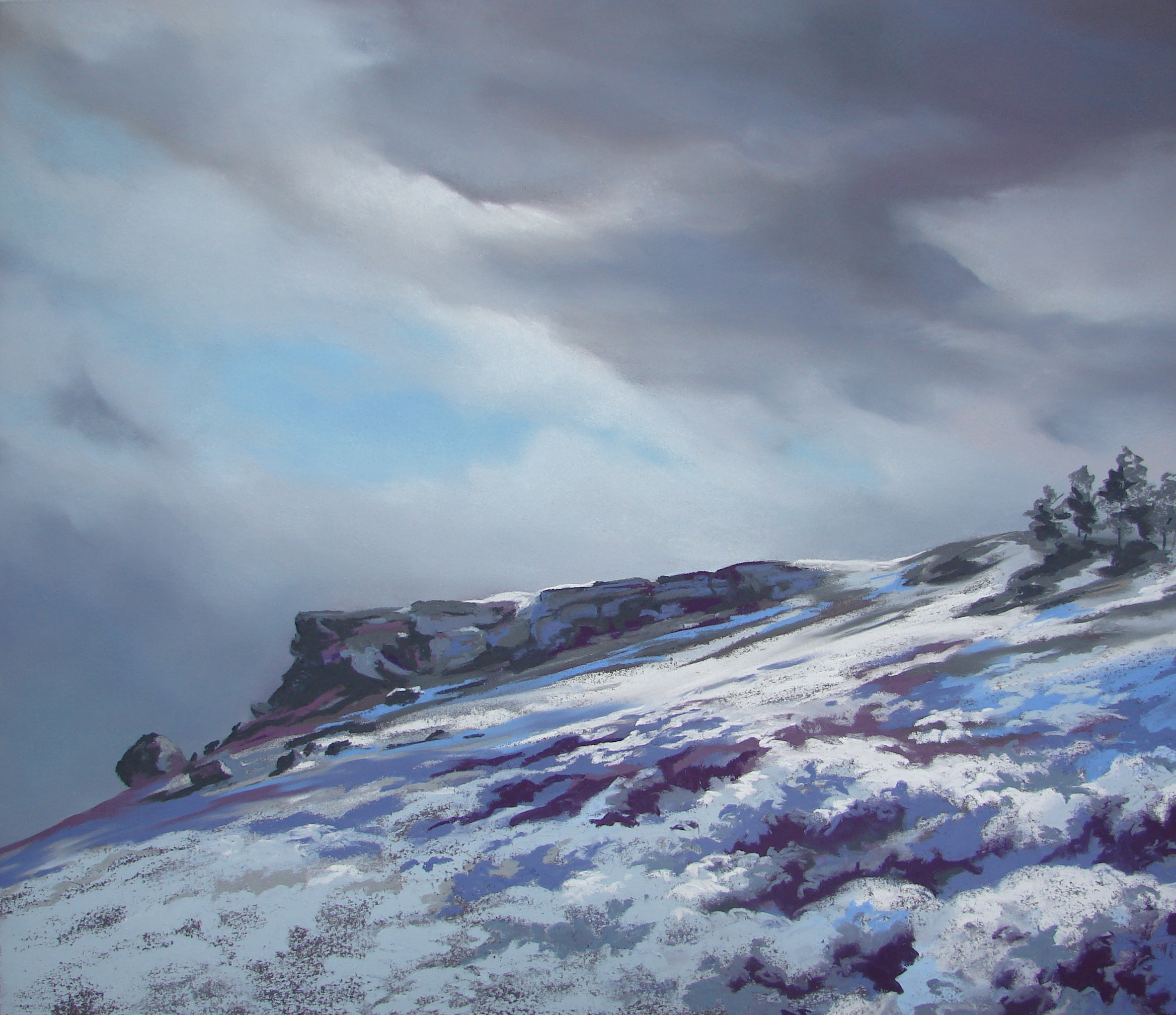 Icy Ilkley Moor.JPG