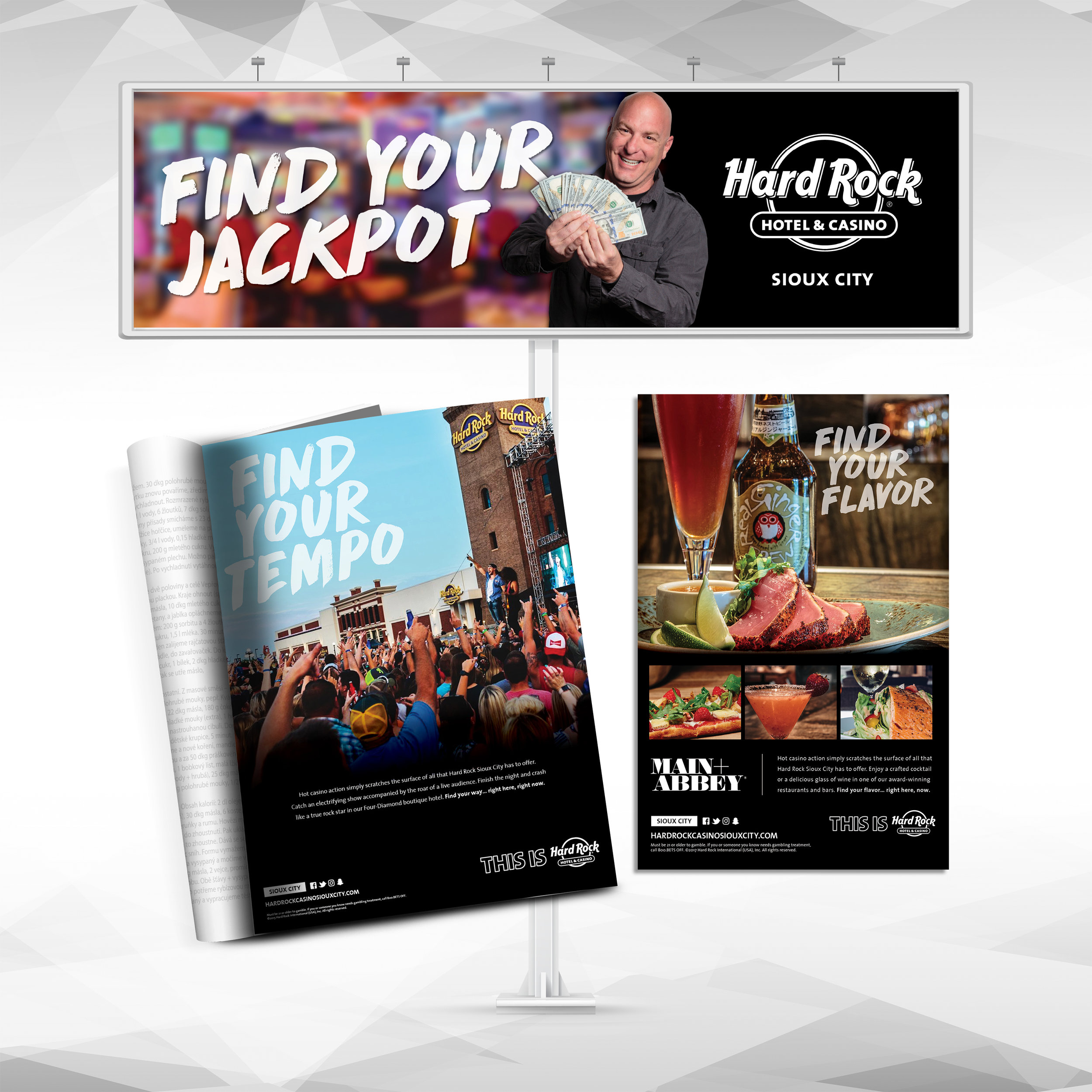 Hard Rock Hotel & Casino Sioux City: Find Your Campaign