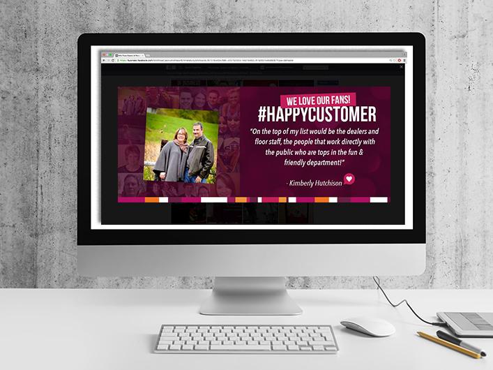Wild Rose Casino & Resort – Emmetsburg: Happy Customer Social & Digital Campaign