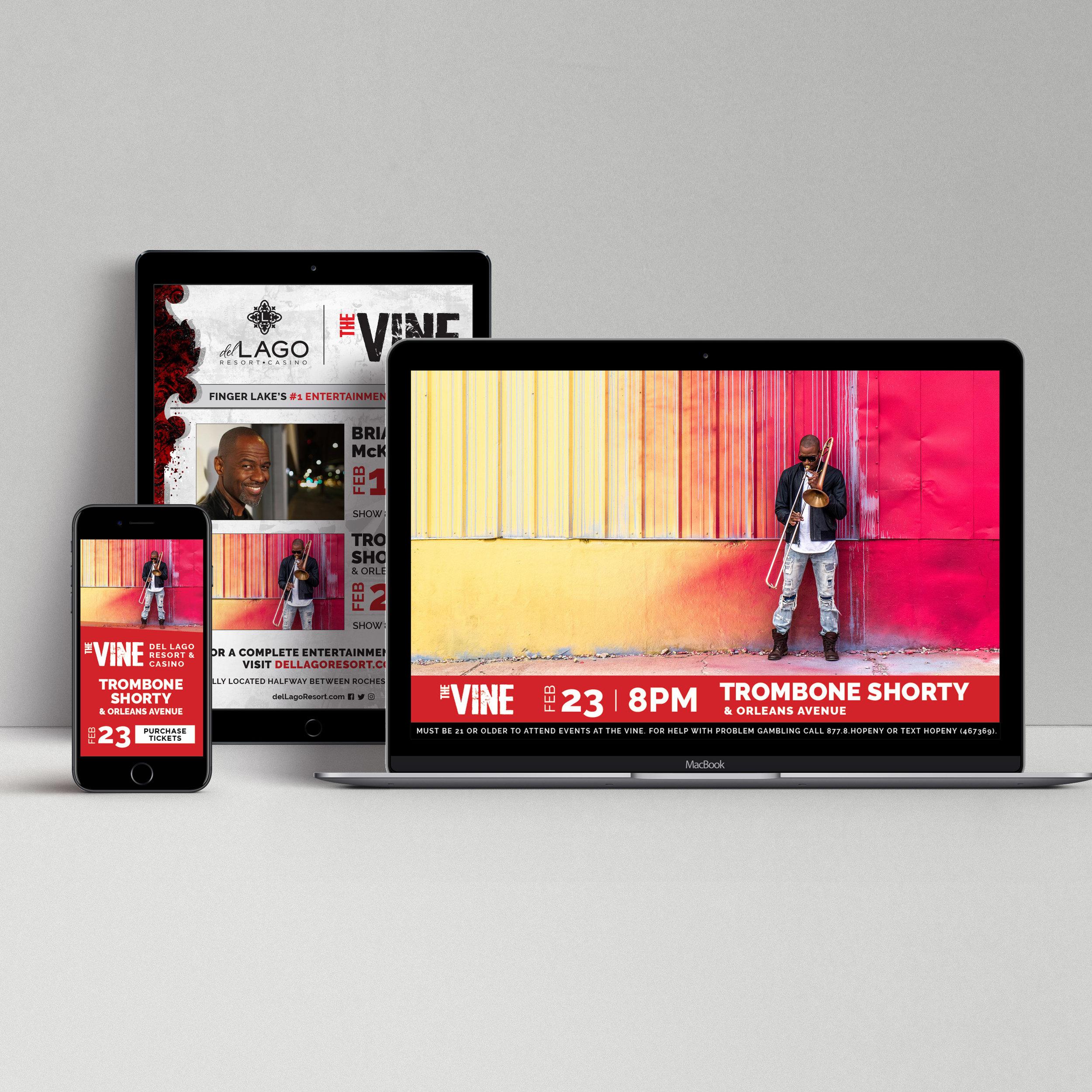 del Lago Resort & Casino: The Vine Social Campaign