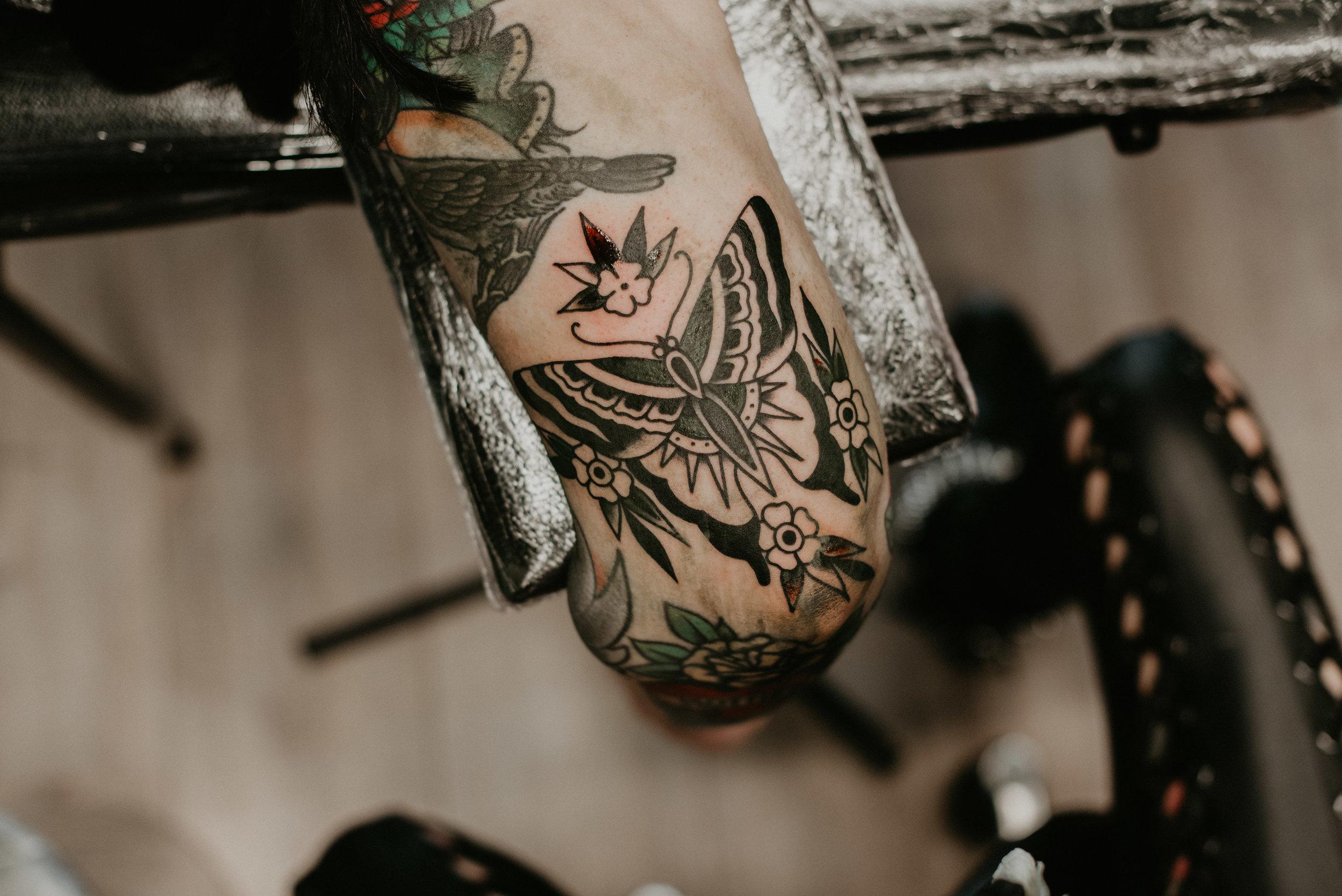 Rotterdam urban photo race, 25 to life tattoo