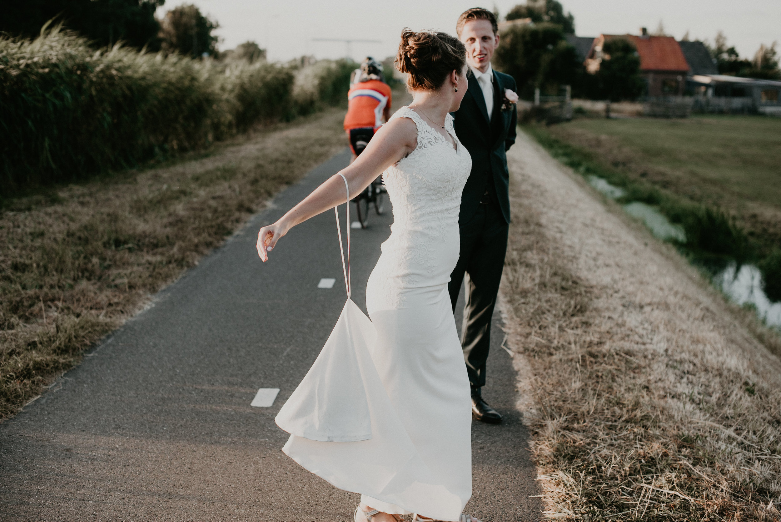 Rotterdam Wedding with Bubble Exit