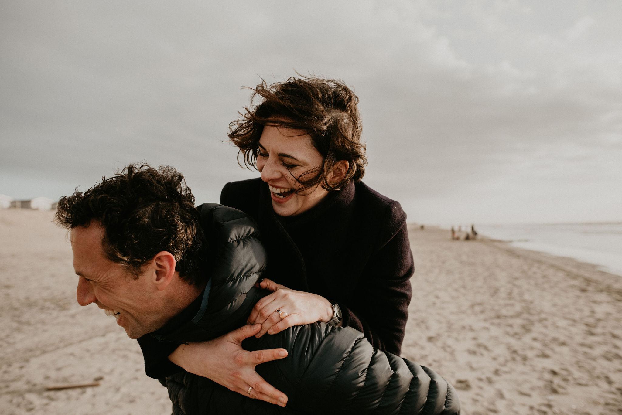 Love shoot at Noordwijk Aan de Zee