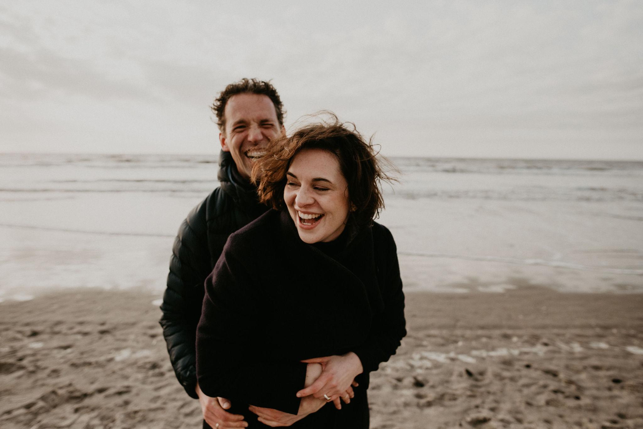 Love Photoshoot at Noordwijk Aan de Zee