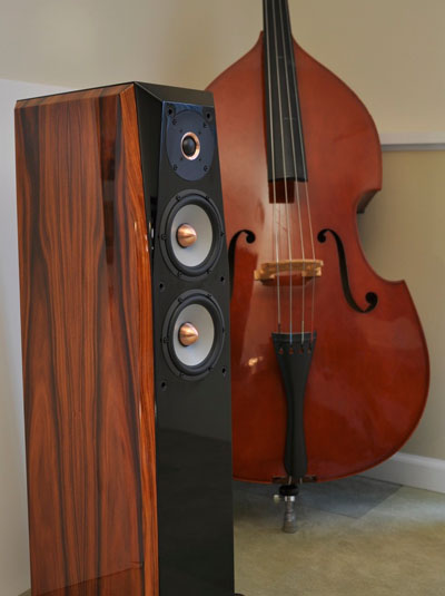 Joseph Audio's Perspective speaker in rosewood