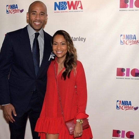 #tbt We enjoyed hearing from #Google's Valeisha Butterfield-Jones pictured here with husband NBA Champion Dahntay Jones. She spoke candidly during the #NBWA #FiresideChat about her work to increase diversity and inclusion in tech.