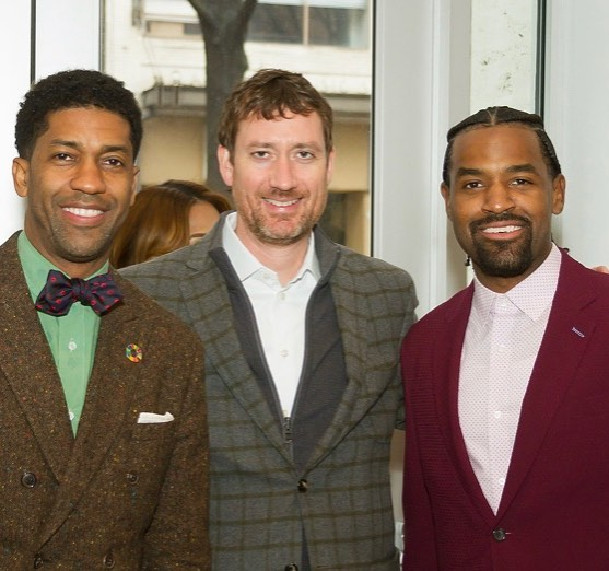 We are still energized by #NBAAllStar Weekend and thankful to our #BIG supporters #FonzworthBentley, Rockbridge Capital President Jordan Hansell and Venture Capitalist/Impact Investor Robert Smith who joined #BaronDavis and the #NBWA to show solidarity for #WomenInBusiness!