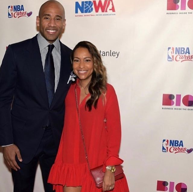 We enjoyed hearing from #Google's Valeisha Butterfield-Jones pictured here with husband NBA Champion Dahntay Jones. She spoke candidly during the #NBWA #FiresideChat about her work to increase diversity and inclusion in tech.
