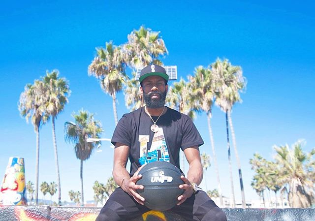Inglewood native, Dash Harris representing #launfd wearing the LA Story Tee. Buy yours before @thedtxcompany x @la.unfd make them fly off the shelves. Link in bio