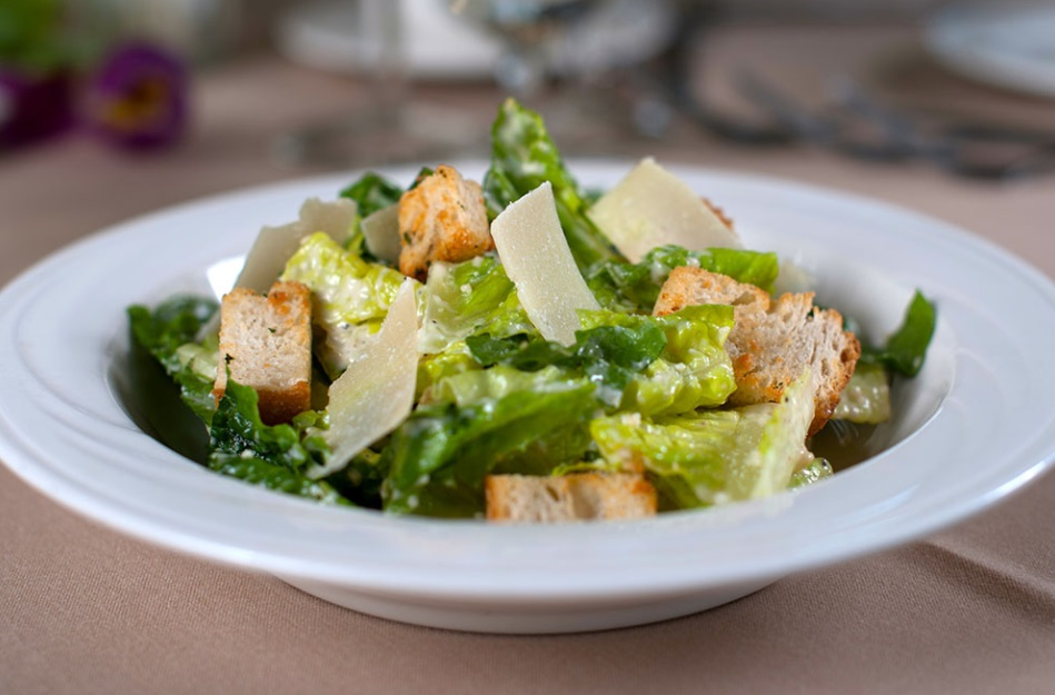 Caesar Salad with house-made dressing & our own croutons