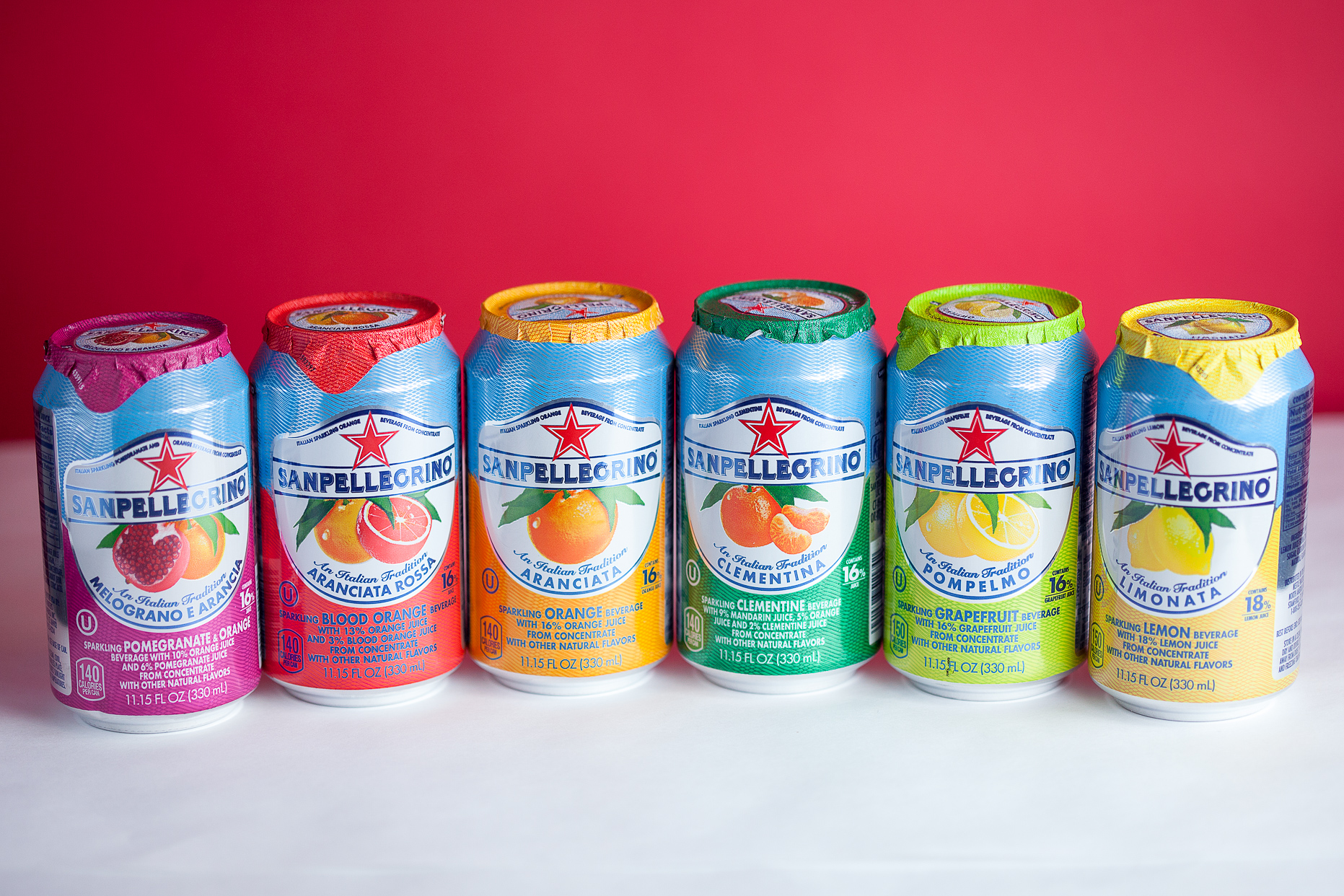 San Pellegrino Imported Real Fruit Sodas