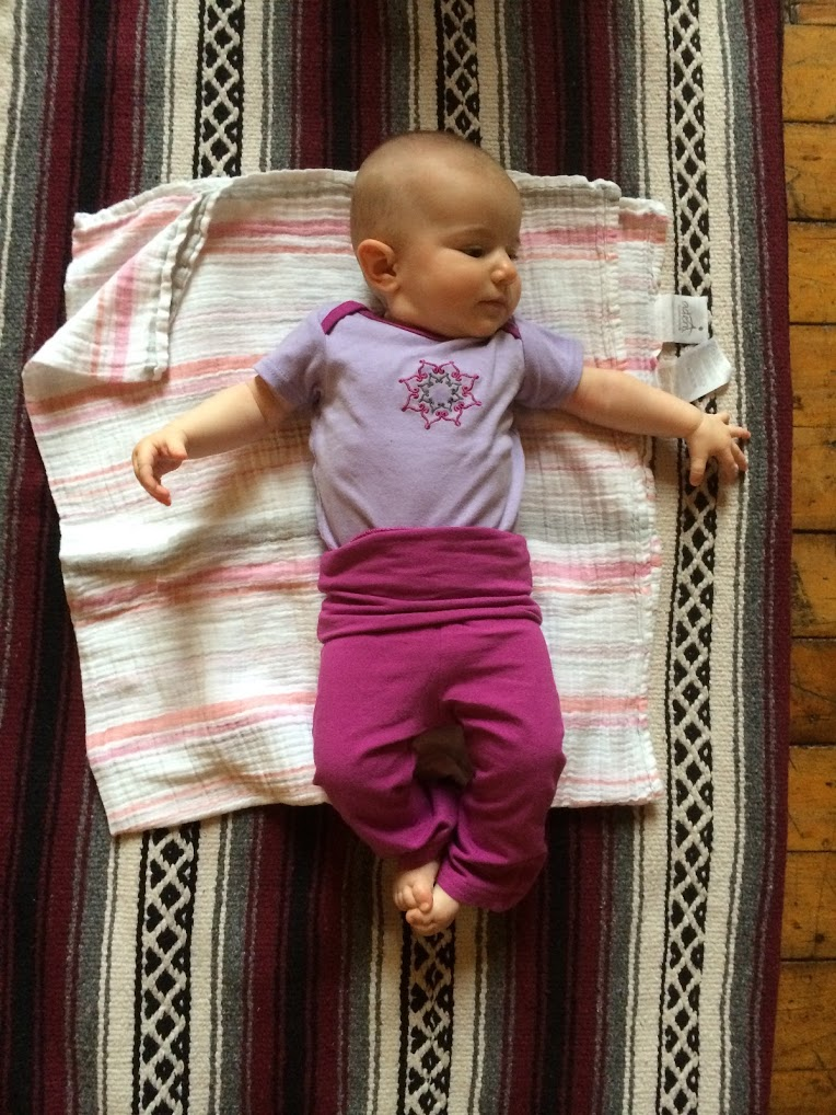 Yoga baby!