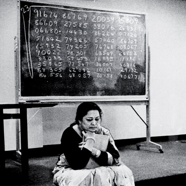 Shakuntala Devi: Feats of Mathematical Greatness, 1929-2013 - The New York Times Magazine: The Lives They Lived