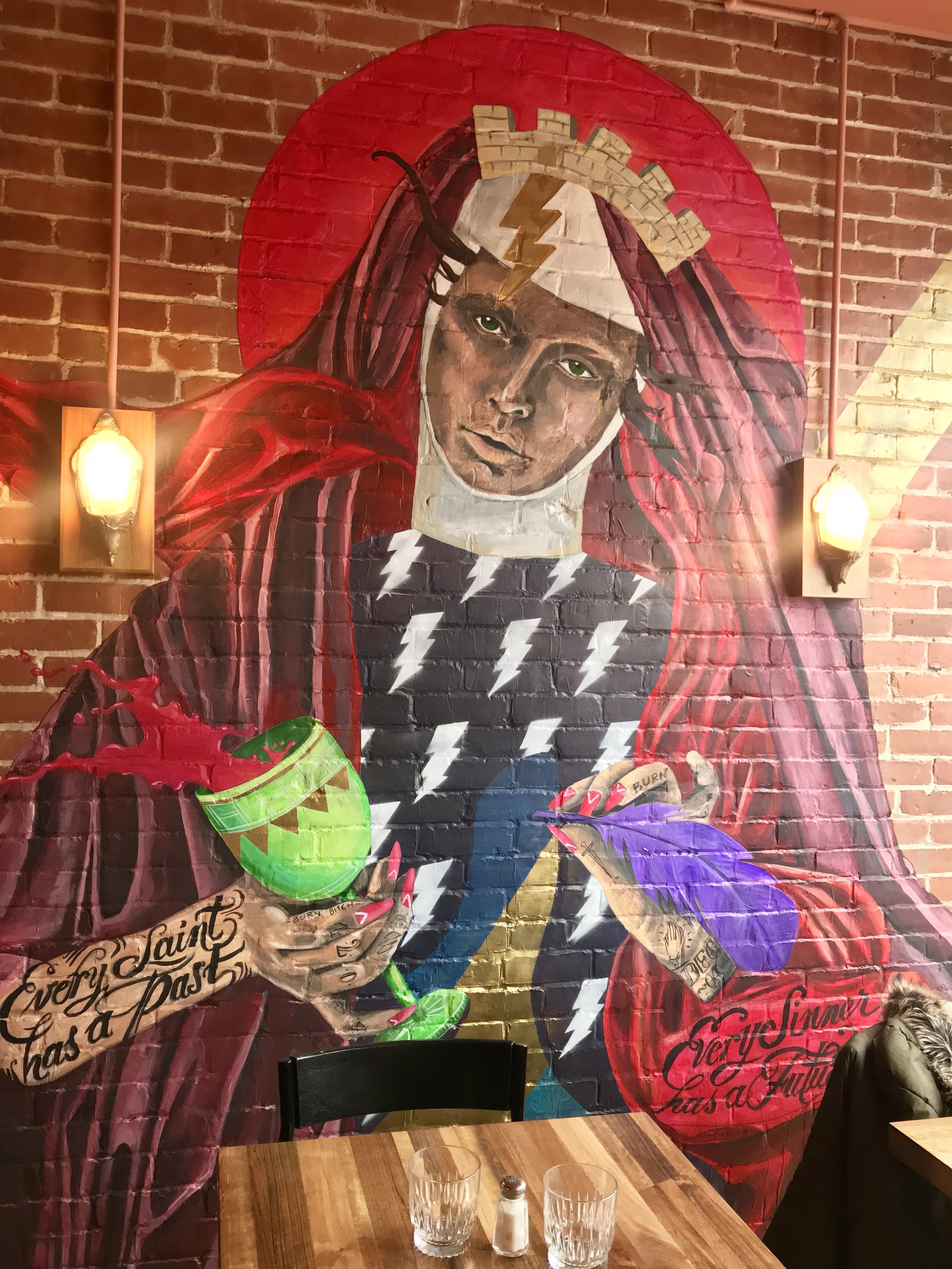 MissMe's Saint Barbara, at Santa Barbara restaurant.