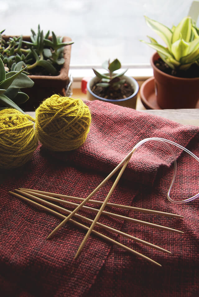 how to knit tools wood knitting needles