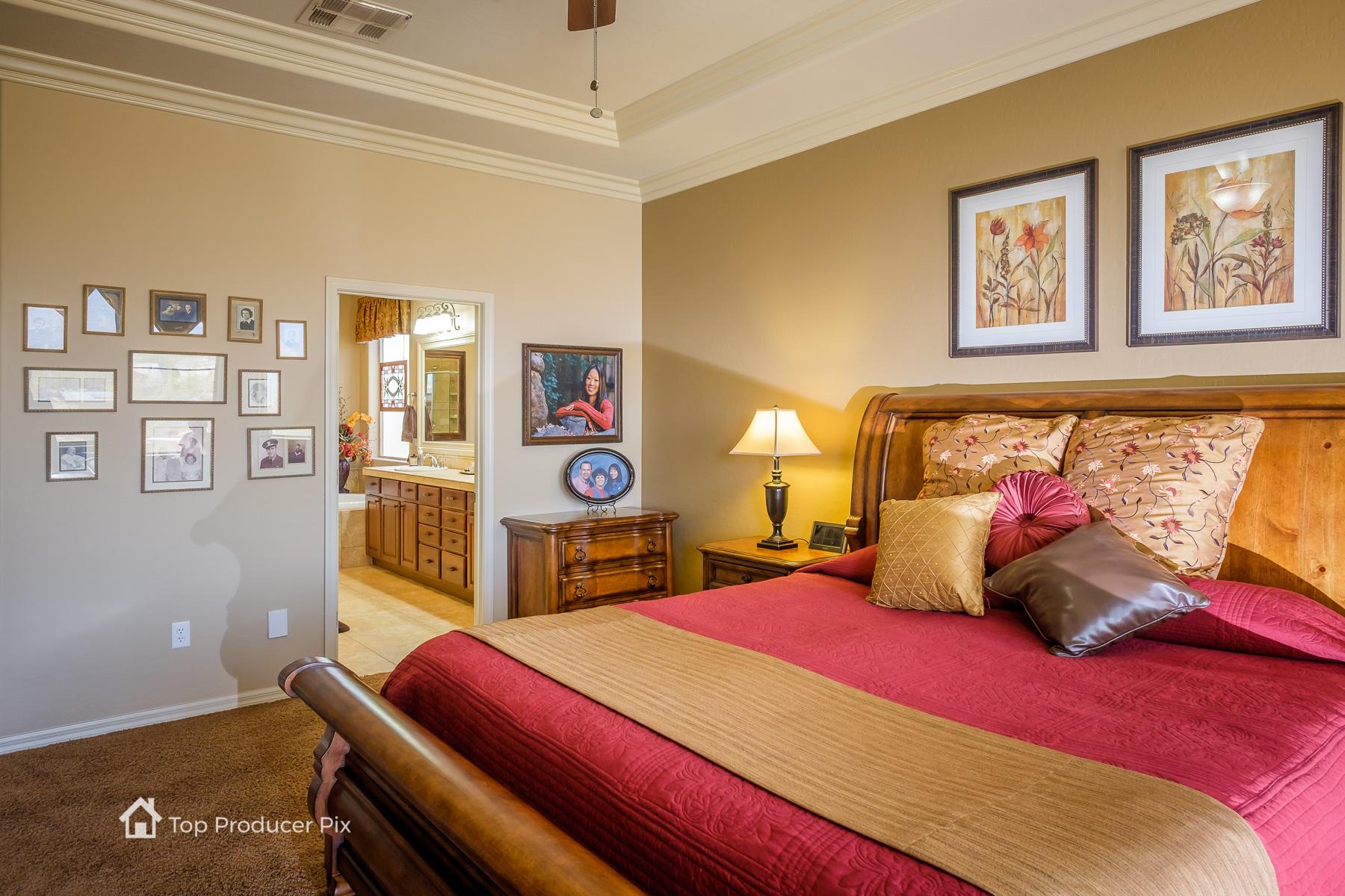 Master Suite - Bedroom, Bathroom, Storage