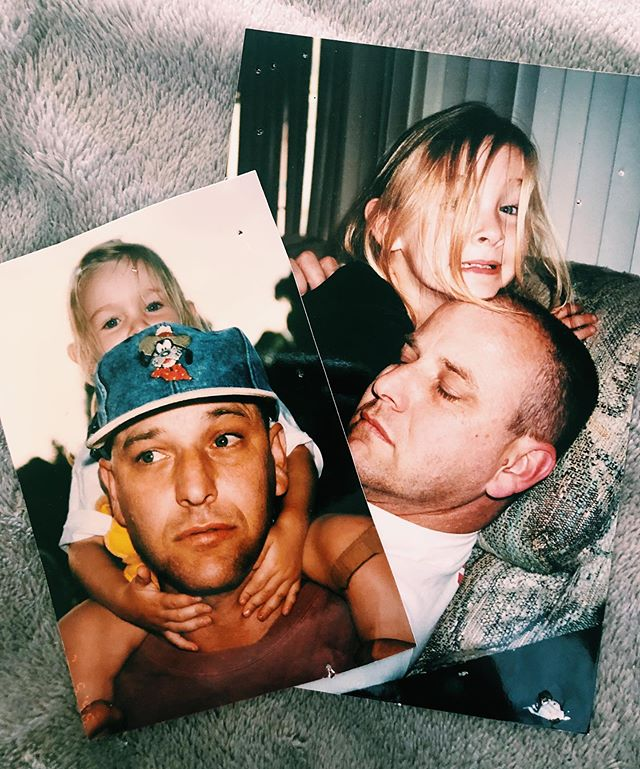 #ThrowbackThursday pics of Baby Lotus Dot KC and her pops from the 90s! Father's Day is this Sunday, June 16th. How are you planning on celebrating the men in your life? 💕 . ❗️Stay tuned this Saturday on the #KICKEE Sponsored B/S/T Facebook for a special Father's Day surprise! 👀❗️