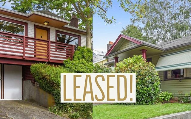Woo busy week! Excited for my owner's of 7350 11th Ave in Ballard and 2126 Dexter Avenue N in Queen Anne, we found great tenants for both of their rental properties this week!  Who else is looking to rent or buy in the Seattle area? I have  some great options for you. Hit me up if you want a list of available homes on the market! . . . . #queenanne #queenannehomes #seattlerentals #seattlerentalgroup #ballard #ballardhomes #seattle #homes #rentalproperty