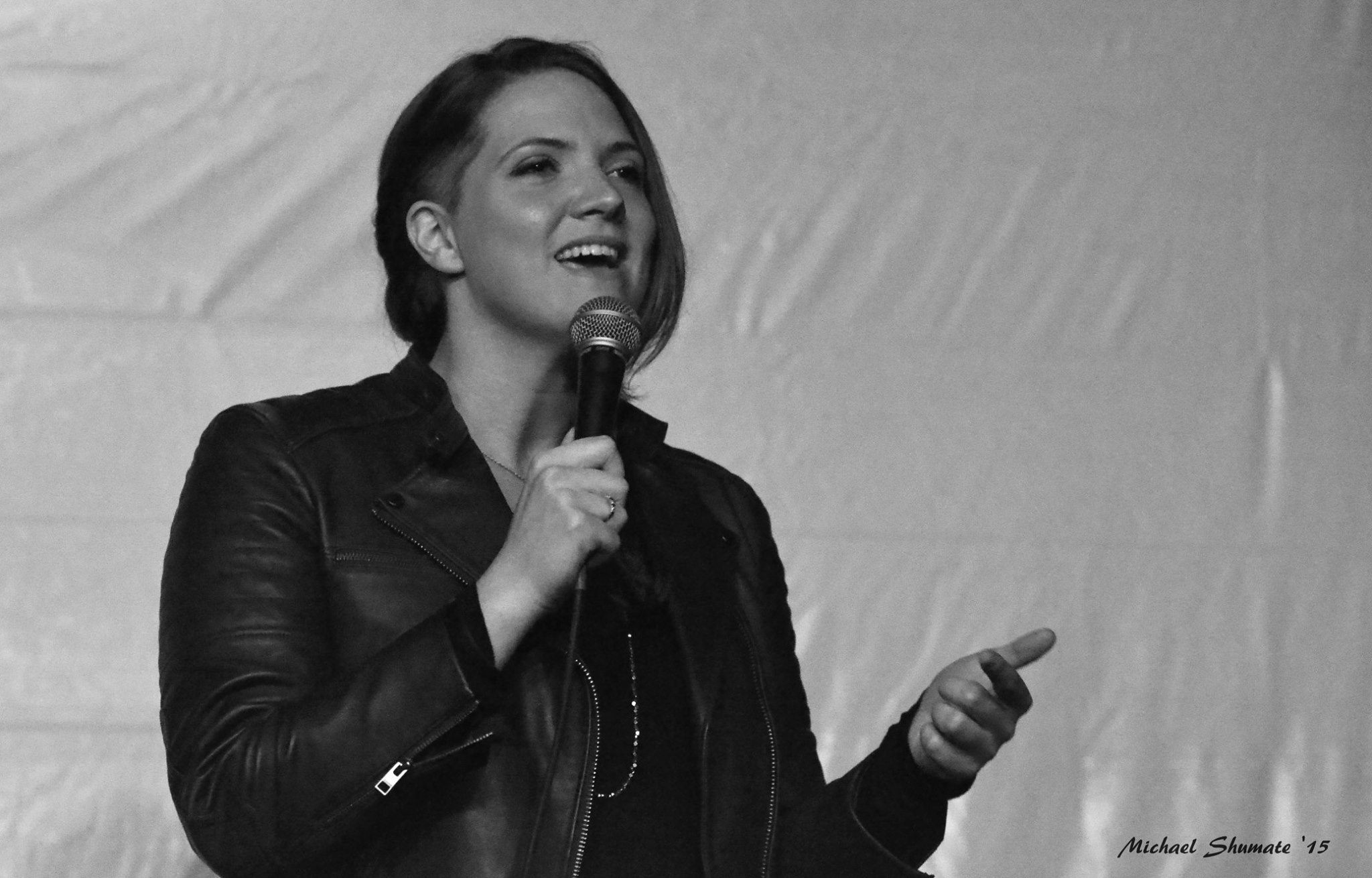 Mars Presents Variety Show, Nashville, 2015. Talking about death and living and courage and resilience. Doing what makes me feel alive, right where I am.