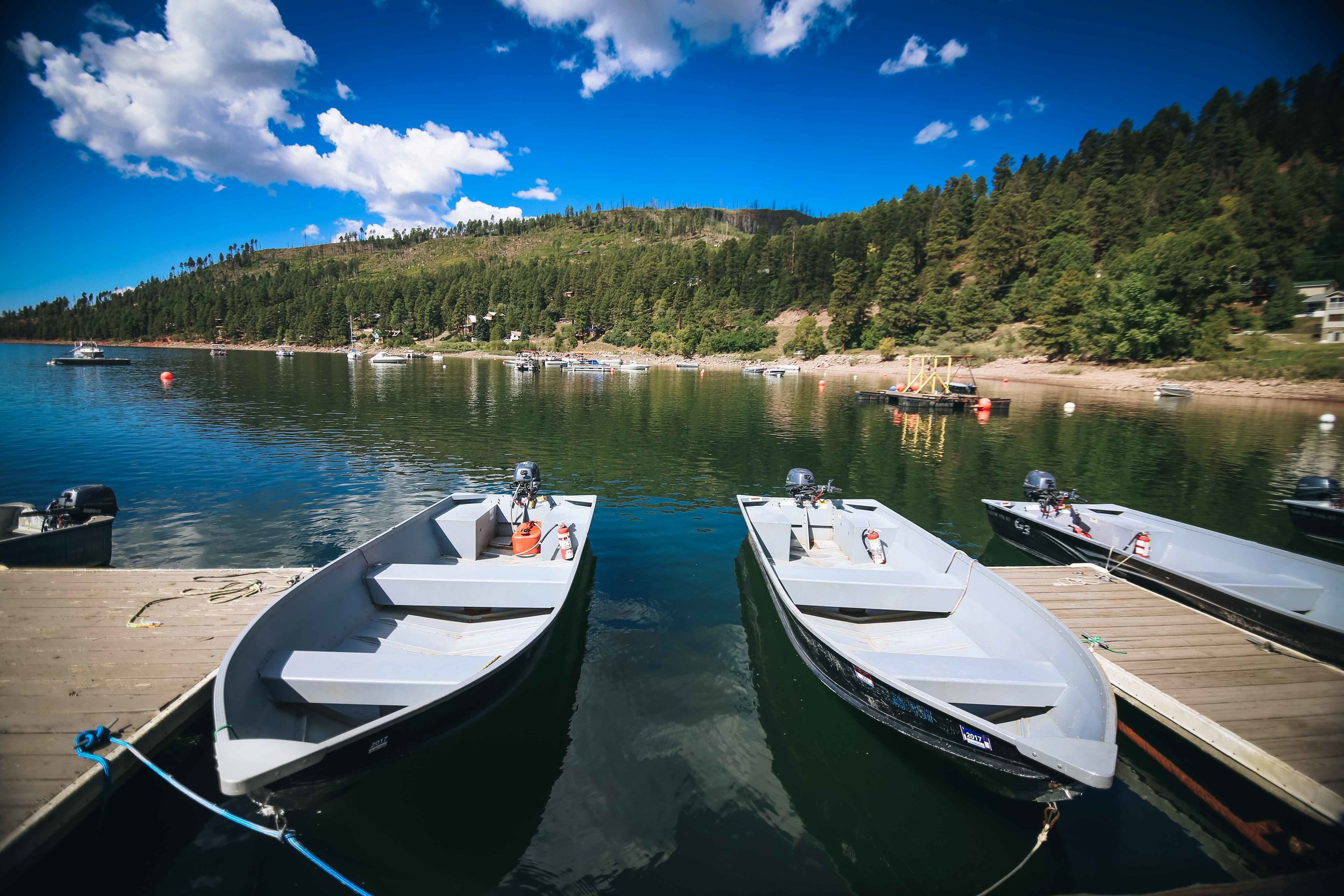 09-13 Vallecito Marina, Boats, Dock, Lake, Fishing, Bear-6485.jpg
