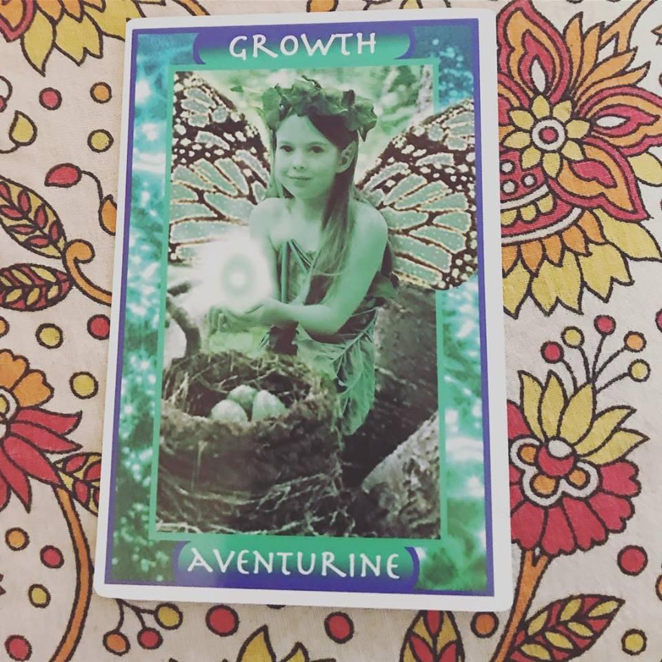 AVENTURINE CRYSTAL GROWTH