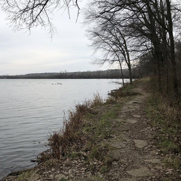 Saganashkee-Slough Woods - Saganashkee Slough is a 6.9 mile moderately trafficked loop trail located near Lemont, Illinois that features a lake. The trail is rated as moderate and offers a number of activity options. Dogs are also able to use this trail but must be kept on leash.Trail Map