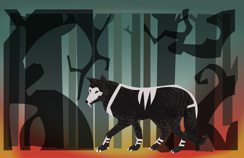 Chantal-Benitez-Character-Design-Illustration-Demon-Wolf-Frank