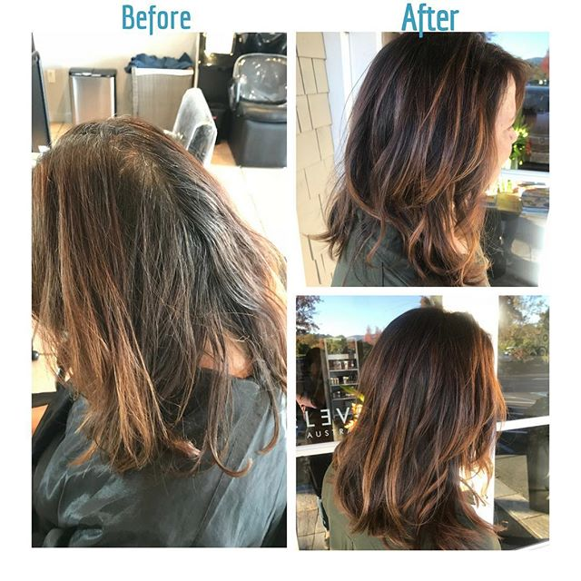 #beforeandafter #salonellemillvalley
