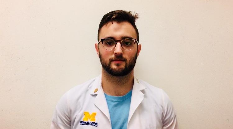 Seth Klapman, M3, The University of Michigan Medical School