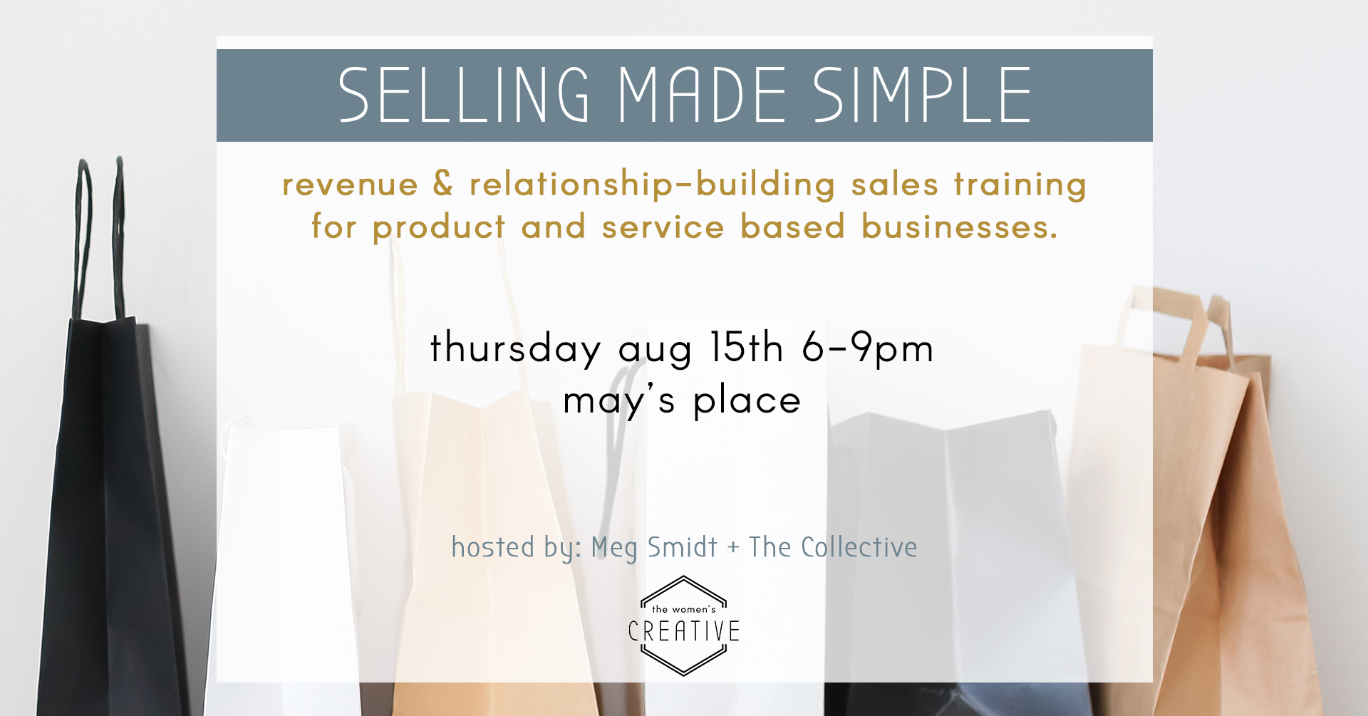 SALES MADE SIMPLE: SALES WORKSHOP ST LOUIS THE WOMEN'S COLLECTIVE