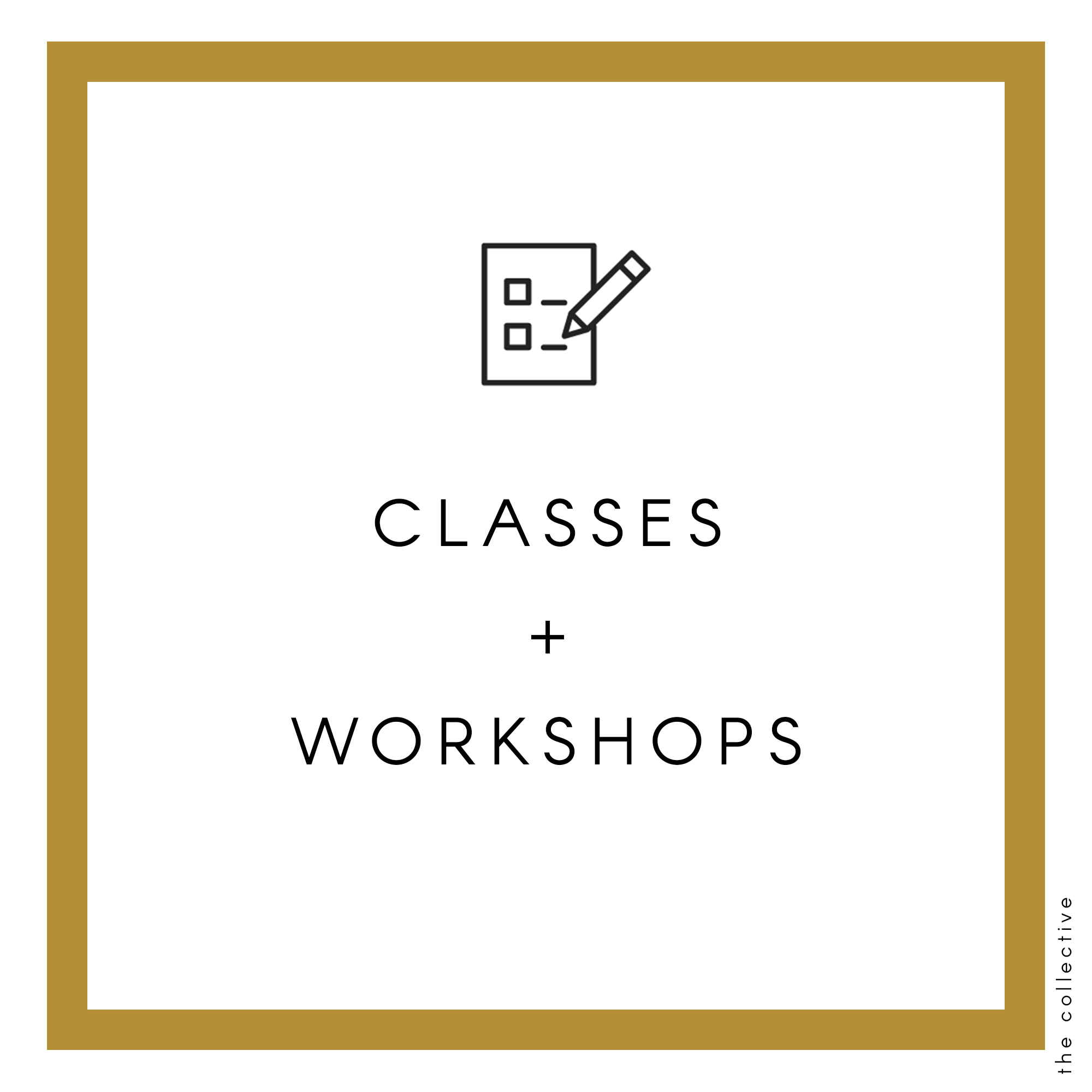 The Collective classes and workshops