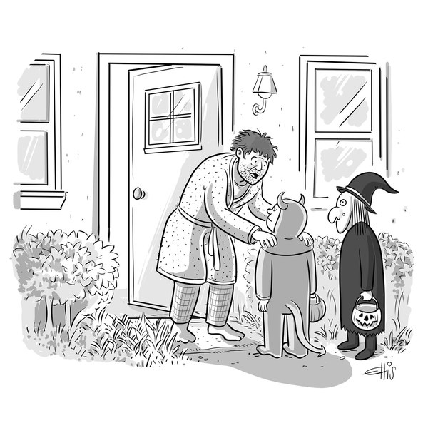 Cartoon from The New Yorker