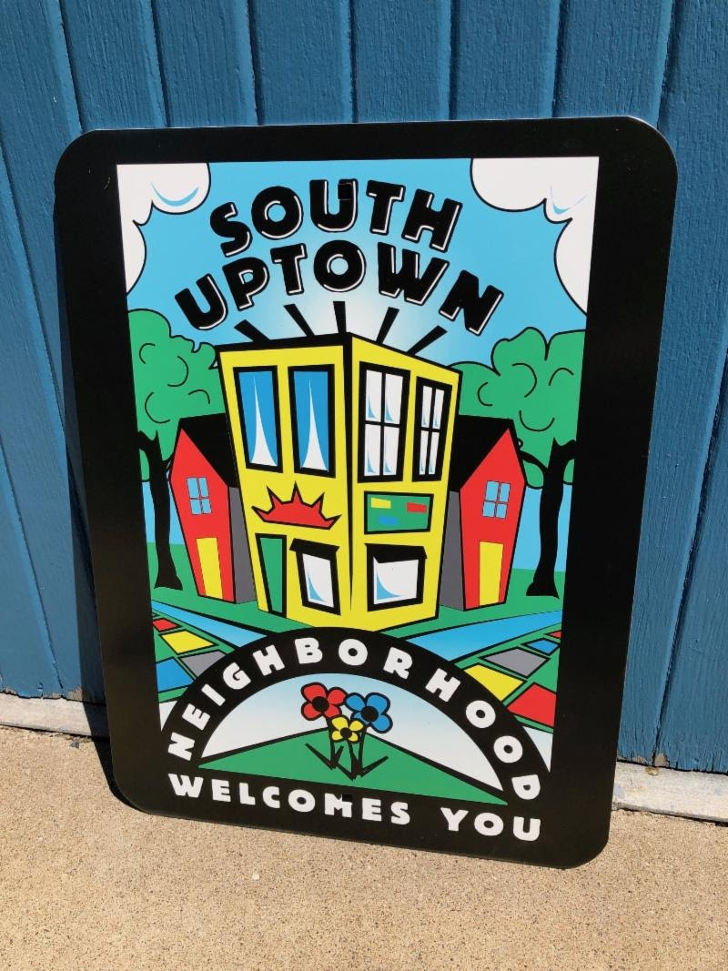 New South Uptown Signs