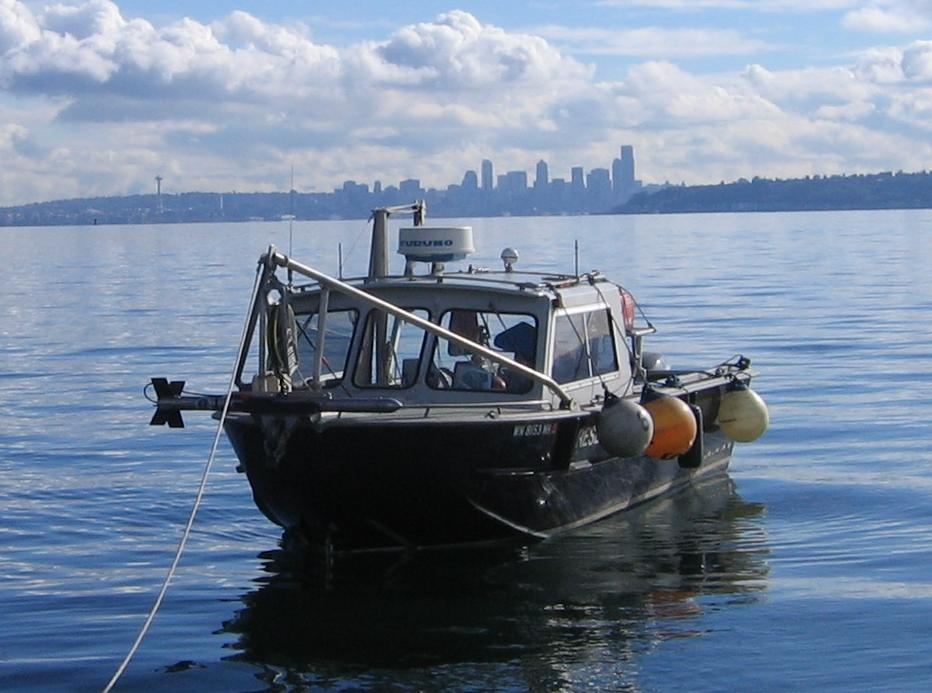 Marine Survey - Innerspace volunteers are some of the most experienced marine surveyors in the world allowing us to conduct superior hydrographic surveys.