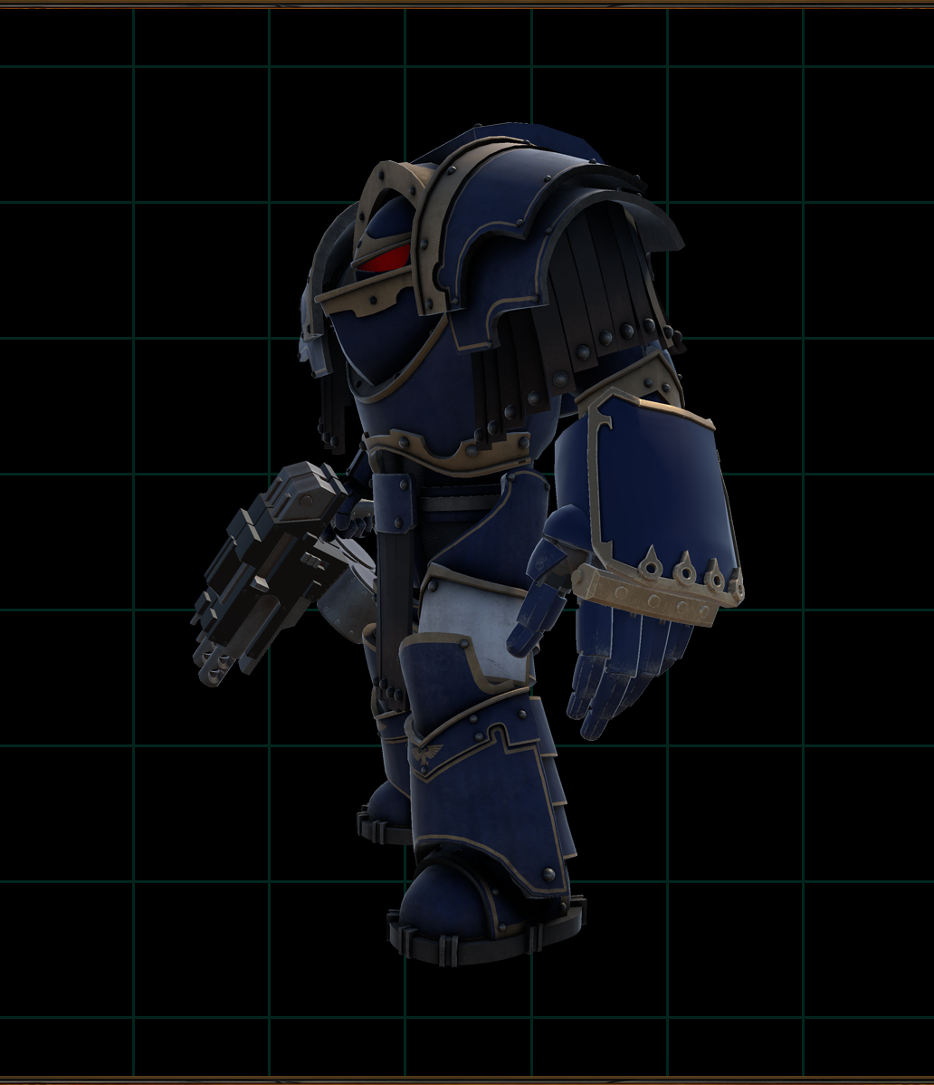 - The ponderous and destructive force of a Terminator's Power Fist against heavy armor made it a perfect example case for what we could do with the Armor System. Look forward to their crushing power in a future update.