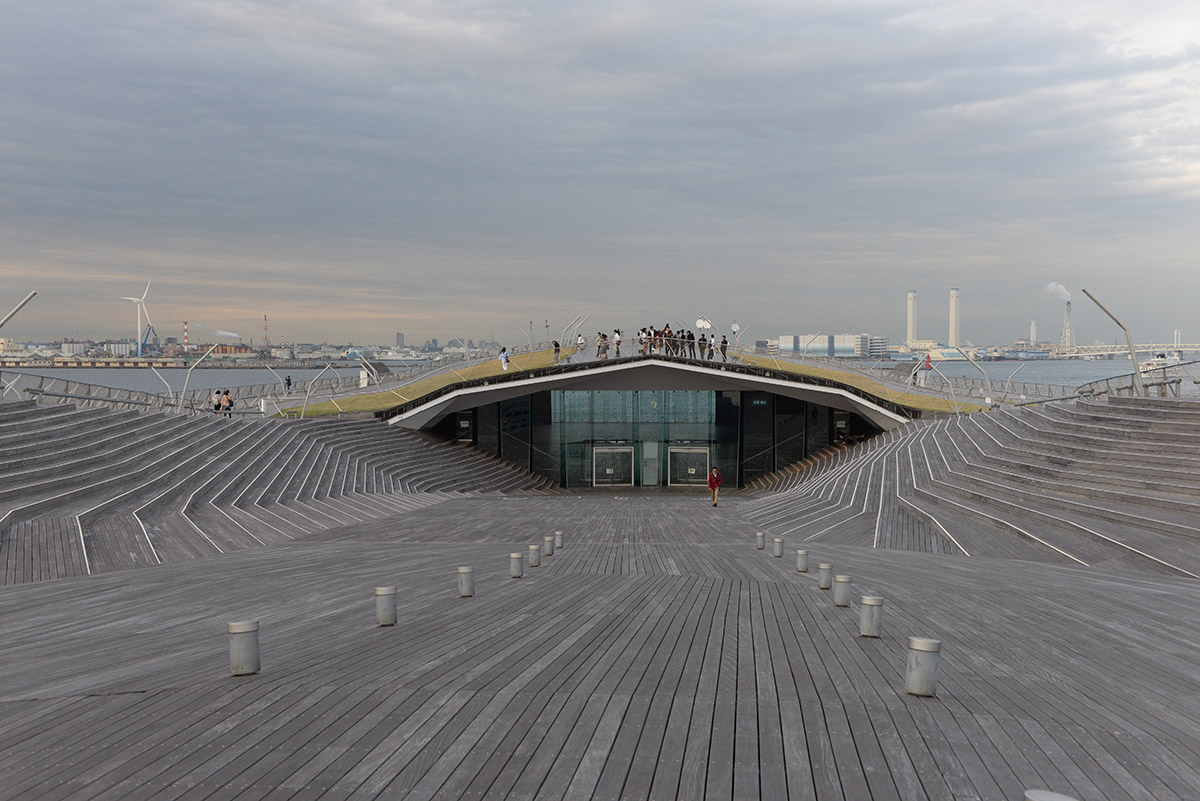 Terminal Internacional de Pasajeros - Yokohama