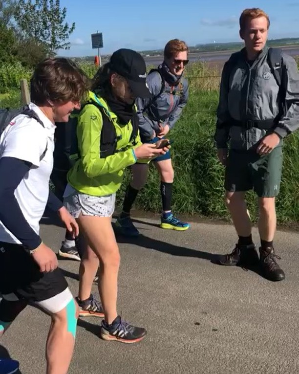 Throwback to this time last week when that van horn set off the #hadrianscrawl runners! 🎬START 09:30 Saturday 4th May FINISH 14:50 Sunday 5th May.🎬 Swipe to see how our bodies dealt with running 3.2 marathons! 🥊 🥊🥊#itaintpretty #nofilter #instavsreality  Totally impossible without the incredible #support team who met us every 5 miles with hot brews, grub, music and love. #thankyou for going above and beyond and staying #joyful even with lack of sleep, freezing cold and giving up your weekend to cheer us! 🏆 #goforgold  We are so close to feeding our second school of 727 children in Chete, Malawi! If you think we deserve a few pennies please donate bit.ly/hadrianscrawl2 - LINK IN BIO. 🥣🥣🥣🥣🥣🥣 Thanks to @arenagermany #arenasportswear who kindly sponsored with some of their amazing kit!  @marysmeals #marysmeals #milesformeals #hadrianswall #ultramarathon #london #running #charity #feedaschoolforayear #teamworkmakesthedreamwork #thankyou