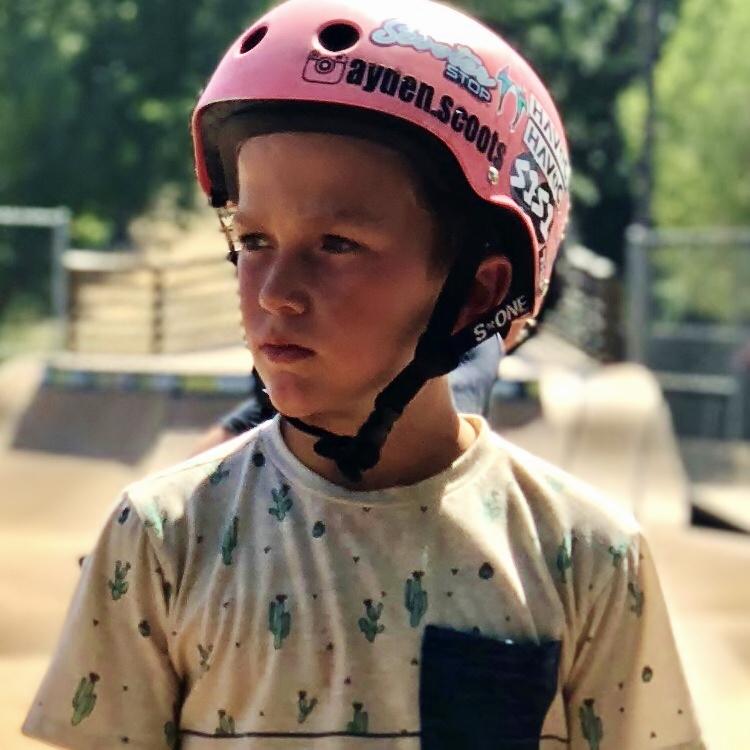 INTERMEDIATE Rider: Ayden Gilette @ayden.scoots