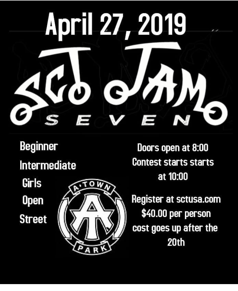 4/27/2019 - SCT JAM 7,  Atown Park , Atascadero, CA (x1.5pts)
