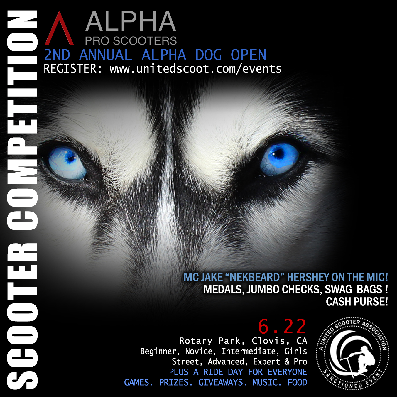6/22/2019 - Alpha Dog II, Rotary Park, Clovis, CA (x1.5pts)