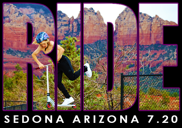 7/20/2019 - Sedona Ride & Slide, Jack Malgram Skate Park, Sedona AZ (x1.0pts)