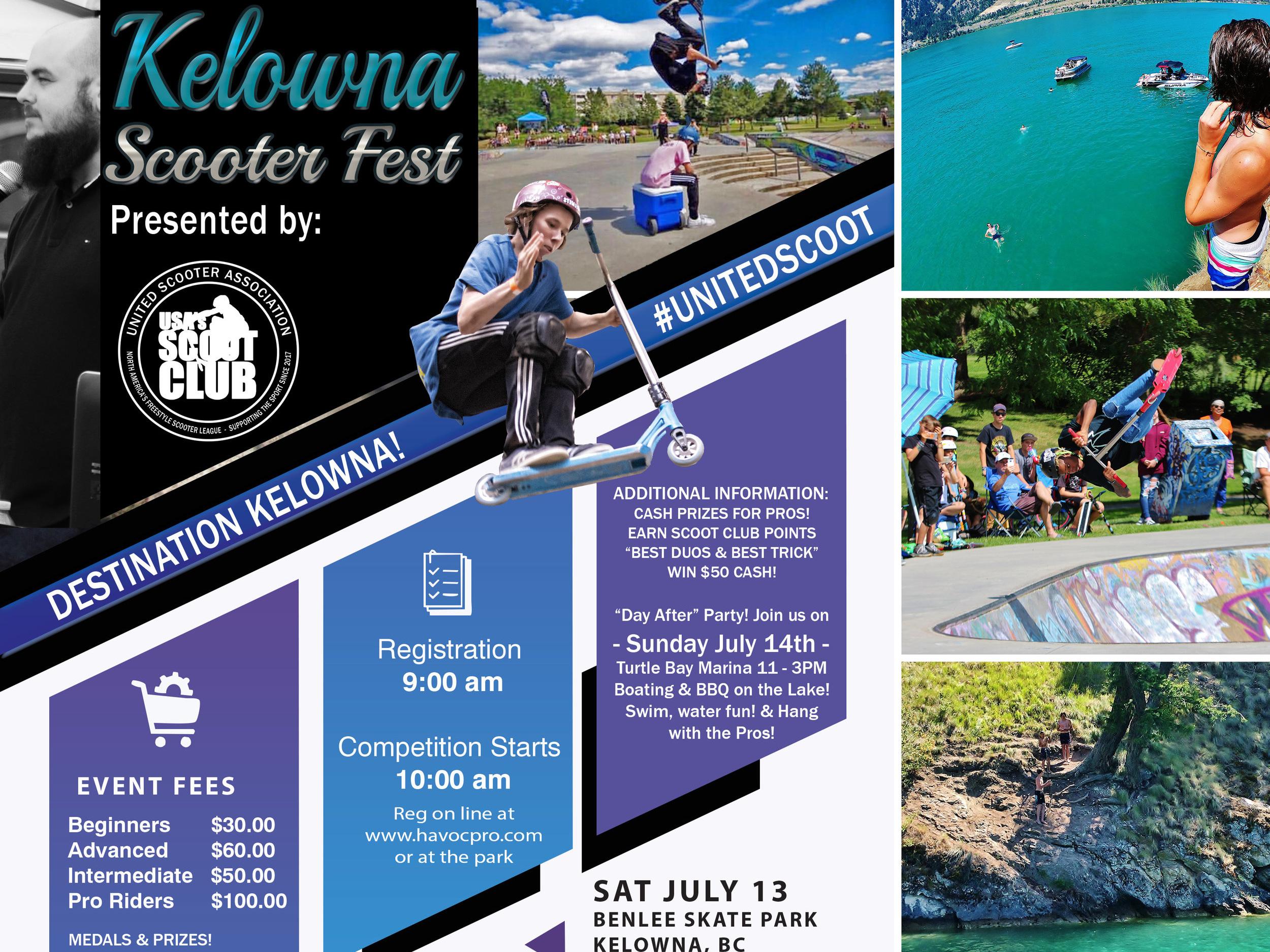 6/22/2019 - Kelona ScootFest, Benlee Park, Kelowna, Canada (x1.5pts)