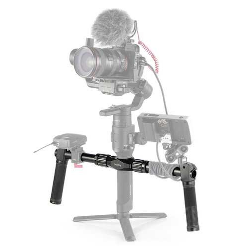 DJI Ronin S with Small Rig handles
