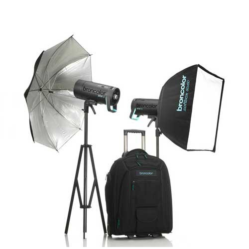 Copy of Broncolor Siros 400 L outdoor kit